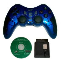 Gamepad Stick Wireless 2.4G Single Turbo 5 in 1 PC PS2 PS3