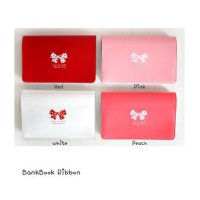 SCH001 Tempat kartu nama kulit pita card case holder leather bow