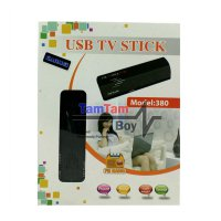 Gadmei USB TV STICK/TV Tuner/Converter AV To USB untuk Laptop Gadmei Model 380 - Hitam