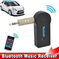 Wireless Bluetooth 3.5mm Car AUX Audio Stereo Music Receiver Adapter