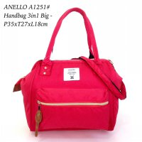 Tas import Wanita Anello Handbag 3in 1 Big A1251 - 14