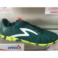 sepatu futsal specs tomahawk in moss green 2016 new color original 100