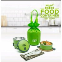 RANTANG SUSUN SMARTMOM FOOD CONTAINER STAINLESS SET
