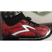 sepatu futsal specs barricada ultra in emperor red black original 100%