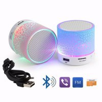 New Promo LED Mini Portable Wireless Bluetooth Speaker Outdoor USB Music Sound.Speaker Akif / Speaker Bas / Musik