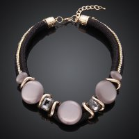 MCN016-A Fashion New Style Top Grade Crystal Necklace For Ladies