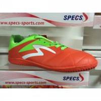 sepatu futsal specs barricada gurkha in 2016 orange green white origin
