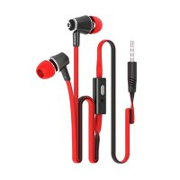 HIPPO Hop Powerfull Bass Headset - Merah - P1704231