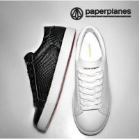 Paperplanes 2016 NEW Sneakers Basic Shoes Simple and Clean Style Anti Slip Bottom Sole PP1353 Python
