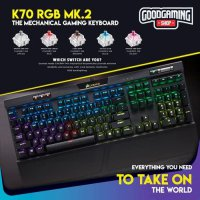 Corsair K70 MK.2 - Gaming Keyboard