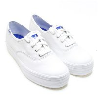 Keds-WH55748-TRIPLE LEATHER.White