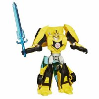 (Promo Gajian) Hasbro Transformers Robots in Disguise Warrior Class Bumblebee Figure