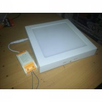 lampu LED panel Downlight tempel 18 Watt ber garansi