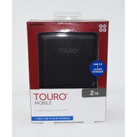 HGST Hitachi Touro 2TB 5400RPM - Hardisk External 2.5'