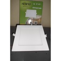 Lampu Led Panel Downlight 12w Kotak Super Terang Bentuk Kotak Ukuran 17,5 cm x 17,5 cm