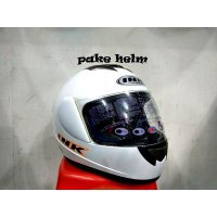 (Full Face) HELM INK CL MAX SOLID WHITE FULL FACE