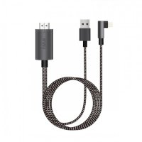 Original WIWU X7 iPhone HDMI Cable To TV - Lightning to HDMI TV Cable