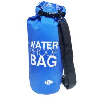 [Gold Product] Dry Bag Waterproof Anti Air untuk Aktifitas di Air size 10L