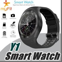 SmartWatch MyFit Y1S Touch Screen Round Face Smartwatch Phone SIM Card