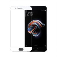 HMC Xiaomi Mi Note 3 2017 - 5.5 inch - 2.5D Full Screen Tempered Glass - Lis Putih