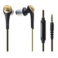 Audio Technica Solid Bass In-Ear Headphones ATH-CKS550iS GD (EX)-Emas