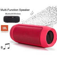 JBL Charge 2 Mini Portable Wireless Speaker Stereo Sound Quality