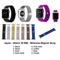 Apple Watch iWatch 38mm 38 mm - Strap Milanese Loop Magnetic Band Stainless Steel Tali Jam