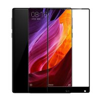 HMC Xiaomi Mi Mix 6.4' - 2.5D Full Screen Tempered Glass + Lis Hitam