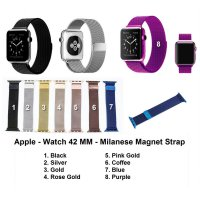Apple Watch iWatch 42mm 42 mm - Strap Milanese Loop Magnetic Band Stainless Steel Tali Jam