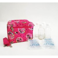 Paket Cooler Bag Minnie Fanta, Botol ASI Kaca ex UC1000 dan 2 Ice Gel