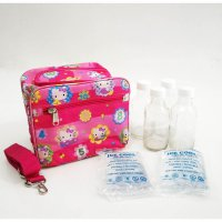 Paket Cooler Bag Hello Kitty Fanta, Botol ASI Kaca ex UC1000 2 Ice Gel