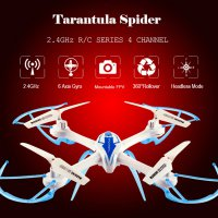 RC Drone Quadcopter Tarantula Spider 2.4G 4 Channel 6 Axis Gyro 1505