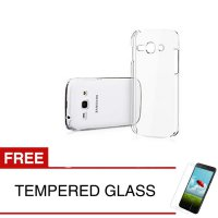 Crystal Case for Samsung Galaxy ACE 3 / S7272 - Clear Hardcase - Gratis Tempered Glass