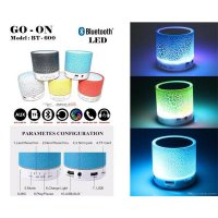 Hot Promo Bluetooth Speaker Portable Mini Colorful LED Light with Murah