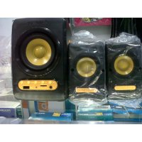 Hot Promo Speaker 2.1 Sonic Gear Quatro V FM Radio USB Micro SD speaker aktif / speaker laptop / speaker super bass