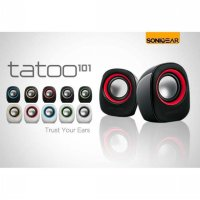 New Hot Promo SPEAKER SONIC GEAR TATOO 101 USB ADAFTOR Speaker aktif / Speaker portable / Super baas