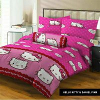 Sprei Lady Rose 160x200 Kitty&Daniel Pink