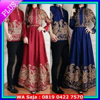 (Star Product) Couple batik queena baju muslim pasangan queen sarimbit murah