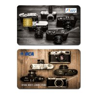 kartu bca flazz custom design kamera Leica camera