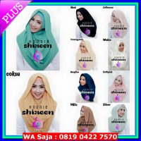 (Hijab Instan) Jilbab Hoodie Shireen new series by Apple Hijab