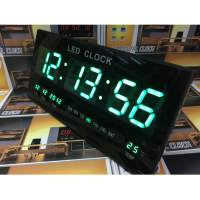 Jam Dinding Digital LED- Hijau