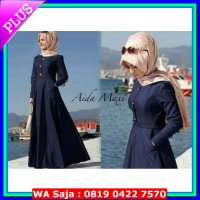 dress + Blazer + Pashmina Aida dress Dark Denim