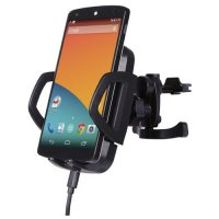 Powerqi C3A Wireless Car Charger with Air Vent Holder - Hitam