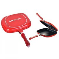 ALAT MASAK DAPUR HAPPYCALL 28CM PANCI HAPPY CALL DOUBLE PAN PRAKTIS IMPORT BEST SELLER