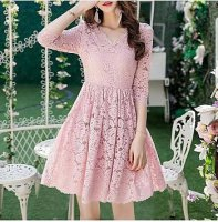 Dress Beauty Brukat 111603R