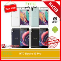 HTC Desire 10 Pro 64GB Ram 4GB 20MP Original 100% Garansi 1thn