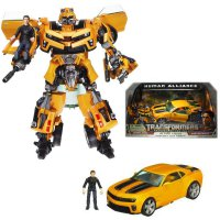 Action Figure Transformers ROTF Bumblebee Human Alliance Hasbro