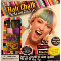 [poledit] Funky Hair Chalk Set - Create Your Own Style - Plus Accessories (R1)/12142582