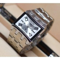 Police Stainless-Steel Case Stainless-Steel Bracelet Mens Watch (SILVER white)