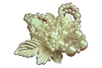 Bross with Pearl - White Pearl by Mutiara Bross